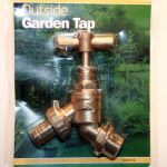 Brass Garden Tap with Hosetail
